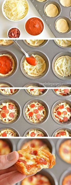 Deep Dish Mini Pizzas – New Ideas You are in the right place about pizza recipes alfredo Here we offer you the most beautiful pictures about the pita pizza recipes you are looking for. When you examine the Deep Dish Mini Pizzas – New Ideas part of … Lunch Snacks, Lunch Recipes, Easy Dinner Recipes, Easy Meals, Kid Lunches, Kids Dinner Ideas Healthy, Fun Dinner Ideas, Easy Lunch Ideas, Pizza Snacks