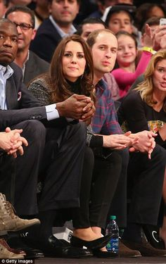 Sharing a joke with Mutombo: All eyes at the Barclays Center will likely be on the Cambrid...