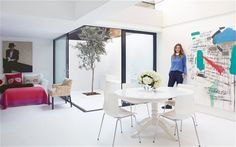 Inside Trinny Woodall's stylish London home #interiordesign