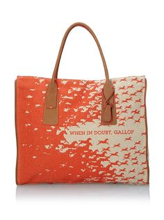 Loquitq - When In Doubt Gallop East/West Tote