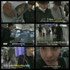 #BTS #방탄소년단 Bon Voyage episode 1 live commentary ❤ So they didn't know anything about booking a flight (obviously because they never really had to) and It was so adorbs.