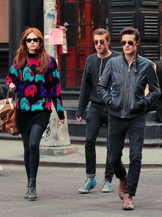 Karen, Arthur, & Matt. WHY ARE THEY SO COOL AND HIPSTER??