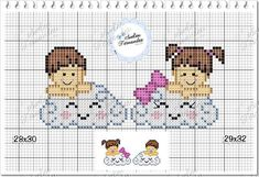 Cross Stitch Letters, Cross Stitch Heart, Cat Cross Stitches, Crochet Stitches, Toddler Chart, Butterfly Cross Stitch, Baby Disney, Embroidery Patterns, Baby Embroidery