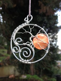 Hunters Moon Tree of Life Pendant