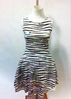 Jenny: tiger print dress