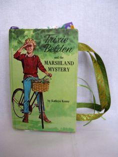 Trixie Belden Book Bag-I grew up reading Trixie Belden-great memories!!