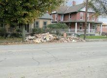Debris removal, $35/hr