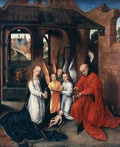 Navity Master of the Prado Adoration of the Magi Birmingham Museum and Art Gallery