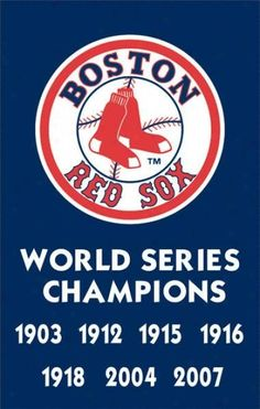 Boston Red Sox - World Series Champions