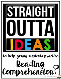 Then you'll definitely want to check out these reading comprehension resources designed especially for K-1 students!