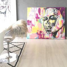 Art streetart woman black bydianaousdal