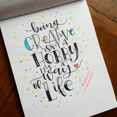 Doodle art journal creativity hand lettering ideas for 2019 Calligraphy Quotes Doodles, Brush Lettering Quotes, Doodle Quotes, Hand Lettering Quotes, Doodle Lettering, Typography Quotes, Calligraphy Art, Art Quotes, Doodle Art Letters