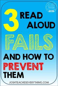 3 Read Aloud Fails a