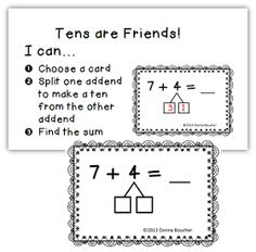 Math Coach's Corner: Make a Ten Strategy for Addition