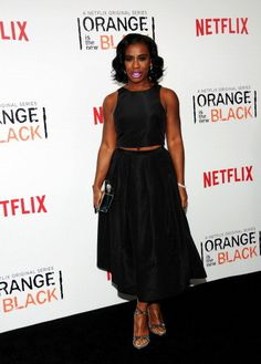 "Uzo Aduba's Red Carpet Game Is ""Crazy"" Beautiful"