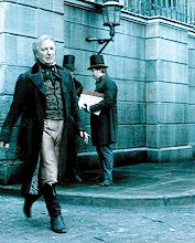 "2007 - Alan Rickman as Judge Turpin in ""Sweeney Todd: The Demon Barber of Fleet Street."""