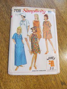 1960s Ladies' JIFFY Beach Mini Dress with Patch by PlatypusDream