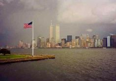 This photo was taken by a Canadian tourist September 10, 2001.