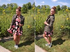 4 Ways to Style a Utility Jacket - Regally Soled on MeijerStyle.com