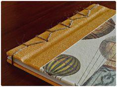 Cuaderno. Encuadernación japonesa. Note book.