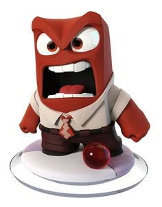 Disney Infinity 3.0 Figure: Anger (Wave 1, Inside Out Play Set, Included in Play Set)