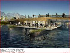 inFORM's Providence Pedestrian Bridge will connect, vitalize, and re-imagine