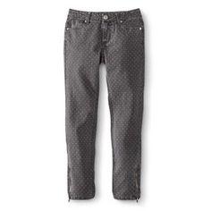 Girls' Polka Dot Skinny Jean