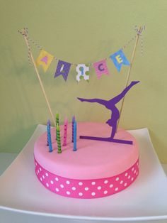 Easy gymnastic cake