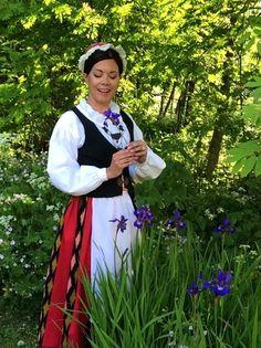 Traditional Finnish costume of Jalasjärvi Folk Costume, Costume Dress, Costumes, Information Center, Countryside, Pray, Blessed, Traditional, Inspiration