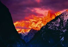 """Afterglow"" (at Yosemite) by Peter Ilk"