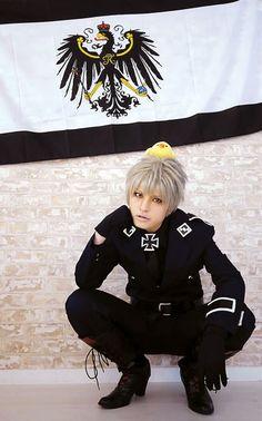 MOMO(MOMO) Prussia Cosplay Photo - Cure WorldCosplay