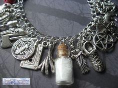 Road So Far Supernatural Charm Bracelet Memoirs of a by AngelQ