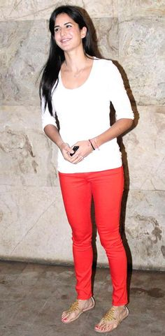 Katrina Kaif at the screening of 'Ship of Theseus' #Bollywood #Fashion