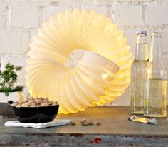 Add a twist to your room's lighting with this easy-to-make table lamp for less than $30.