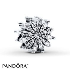 Ice Crystal   Reflecting the beauty of ice crystals, this cubic zirconia-encrusted charm from the PANDORA 2015 Winter collection has an innovative and eye-catching shape. Beautifully crafted, it will bring a new design element to your collection and will add a glamorous touch to your bracelet all year round. Style # 791764CZ.