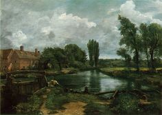 Cave to Canvas, John Constable, Flatford Lock and Mill, 1812