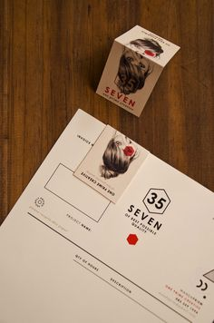 Self promotion idea.  Think about how your biz card will match up with your promotional collateral - even just a letterhead can be enhanced visually if you design your card to be folded.  Nicely done here.
