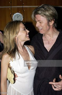 Kylie Minogue With David Bowie