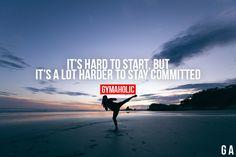 It's Hard To Start