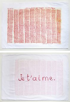 Je T'aime by Louise Bourgeois