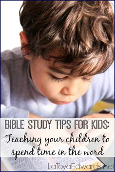 Do you want to start bible study with your kids but aren\'t sure where to start? I\'m sharing bible study tips for family bible time and getting your kids started on their own personal quiet time with God. You don\'t want to miss out on my list of studies to get you started!