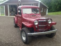 Willys VJ4 Pickup Willys Pinterest Jeeps and Jeep pickup