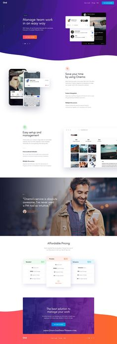 Onne is clean and modern #design multipurpose #PSD template for #business agency website with 21+ niche homepage layouts and 54 layered PSD files to live preview & download click on Visit