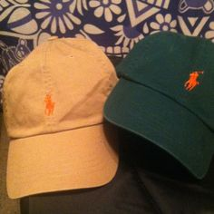 ff9f40aab NWT Ralph Lauren Polo Hats (khaki   hunter green) Brand new