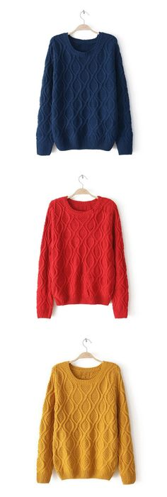 Loose-Fitting Sweater(more colors)   dresslily.com