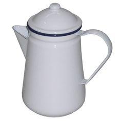 FALCON ENAMEL COFFEE POT 1.3 LITRE