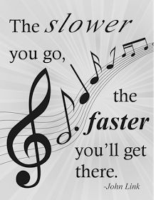 Practice SLOW! -   Practice needs to be done carefully and students need to know that they must NOT practice their mistakes over and over. Piano Quotes, Music Quotes, Film Quotes, Violin Lessons, Music Lessons, Art Lessons, Cellos, Practice Quotes, Le Piano