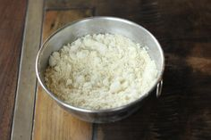 "Low-Carb GLUTEN-FREE ""BISQUICK""  2 1/2 cup blanched almond flour   1/3 cup unflavored protein powder    2 TBS aluminum free baking powder   1 tsp cream of tartar   2 TBS Truvia (or a drop of stevia glycerite)   1 tsp Celtic sea salt   1/2 cup coconut oil or butter     Mix dry ingredients together until very well combined. Cut in the coconut oil or butter until it looks like coarse meal. Store in air tight container. (in freezer)       1/3 cup = 150 cal, 11g fat, 7g protein, 5g carbs, 2.5g…"