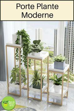 Wooden Plant Stands Indoor, Indoor Plant Shelves, Garden Shelves, House Plants Decor, Plant Decor, Corner Plant, Corner Garden, Deco Zen, Plant Table