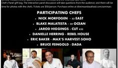 Tickets on sale for the 2015 Delray Beach Wine & Seafood Festival Chef's Panel